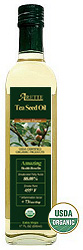 Arette 100 % Organic Tea Seed Oil with Natural Flavor
