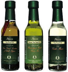 Arette Flavored Tea Seed Oils - Sampler